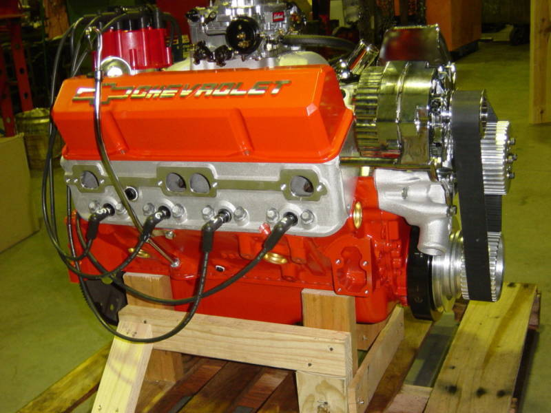 EMA Chevy 383 Vortec Roller Cam Turnkey with Edelbrock ...