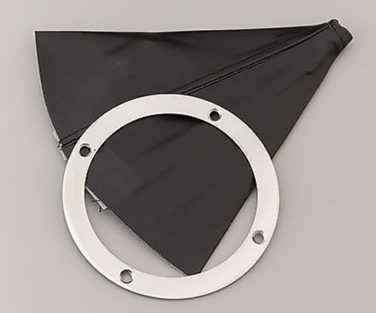 Lokar Shifter Boot 5 Quot Diameter With Boot Amp Stainles Steel