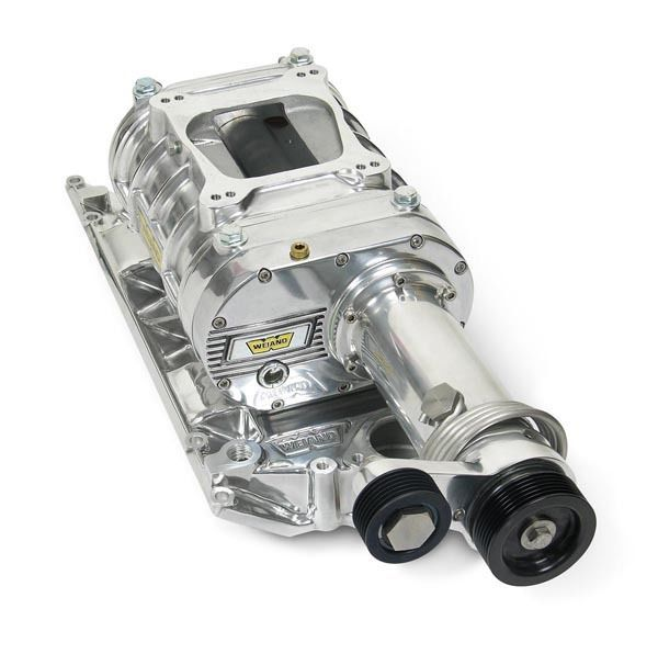 Opala V8 Supercharger: WEIAND 142 PRO-STREET SUPERCHARGER KIT WM6543-1 SUIT CHEV