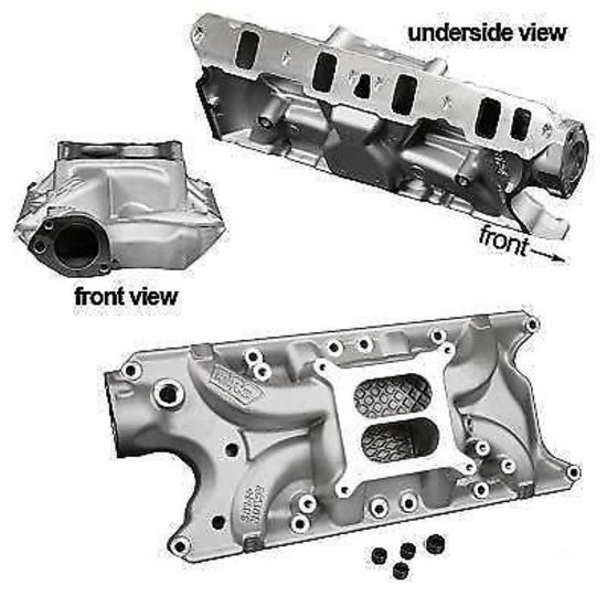 ford   action  intake manifold weiand  weiand