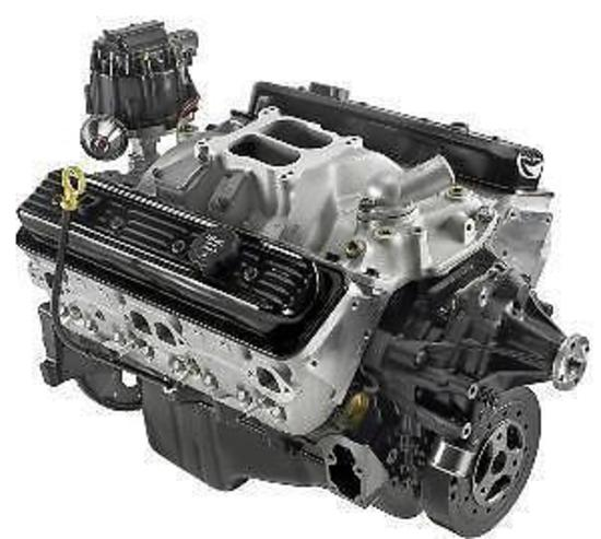 CHEV ZZ4 GM ENGINE ALLOY HEAD CRATE MOTOR 365HP - GM ...