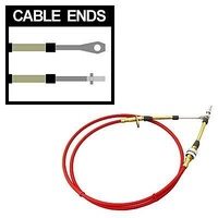 B&M Transmissions BM80833 Super Duty Race Shifter Cable Red 5 Foot