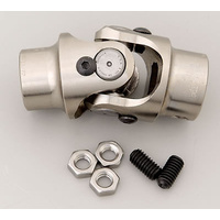 "Flaming River FR1733DD Billet Steering Universal Joint 3/4""-30 Spline X 3/4"" DD"