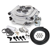 Holley Sniper HO550-510K Master Kit Silver T/Body, Monitor, Pump, Filters, Fittings