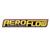 "AEROFLOW ROUND 2-7/16"" BLACK CLAMP-ON FILTER AF2711-1760, 3.75"" OD x 5"" H"