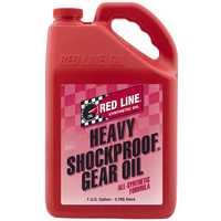 RED LINE HEAVY SHOCKPROOF GEAR OIL RED58205, 1 GAL (3.785 Litres)