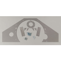 COMPETITION ENGINEERING STEEL MID MOUNT ENGINE PLATE CHEV SB/BB C4031