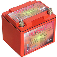 "ODYSSEY DRY CELL 12 V DEEP CYCLE BATTERY 550 CCA 7.9""L X 6.6""W X 6.8""H ODPC1200"