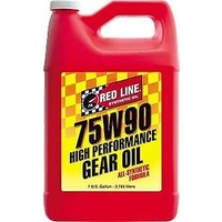 RED LINE 75W90 GL-5 GEAR OIL RED57905, 1 GAL (3.785 Litres)
