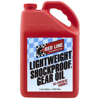 RED LINE LIGHTWEIGHT SHOCKPROOF GEAR OIL RED58405, 1 GAL (3.785L)