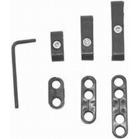 RPC RPCR9577 Pro Style Spark Plug Lead Separator Kit Black for 8-9mm Leads