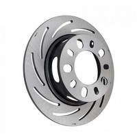"STRANGE H/D 11.25"" SLOTTED REAR DISC ROTOR LEFT SIDE STB2793"