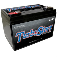 "TURBOSTART 16 VOLT 595CCA AGM RACE BATTERY TSS16V TOP POST 10.3"" x 6.75"" x7.25"""