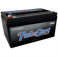 "TURBOSTART TSS16VL 16V LIGHT WEIGHT 450CCA AGM RACE BATTERY 10.3"" x 6.75""x 6"""
