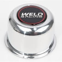 "WELD RACING WEP605-5073 POLISHED CENTRE CAP PUSH THROUGH 3.160"" Dia. 2"" TALL"