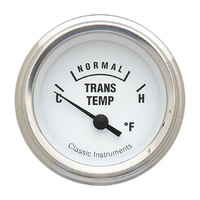 "Classic Instruments (WH27SLF) White Hot 2 1/8"" Trans. Temperature"
