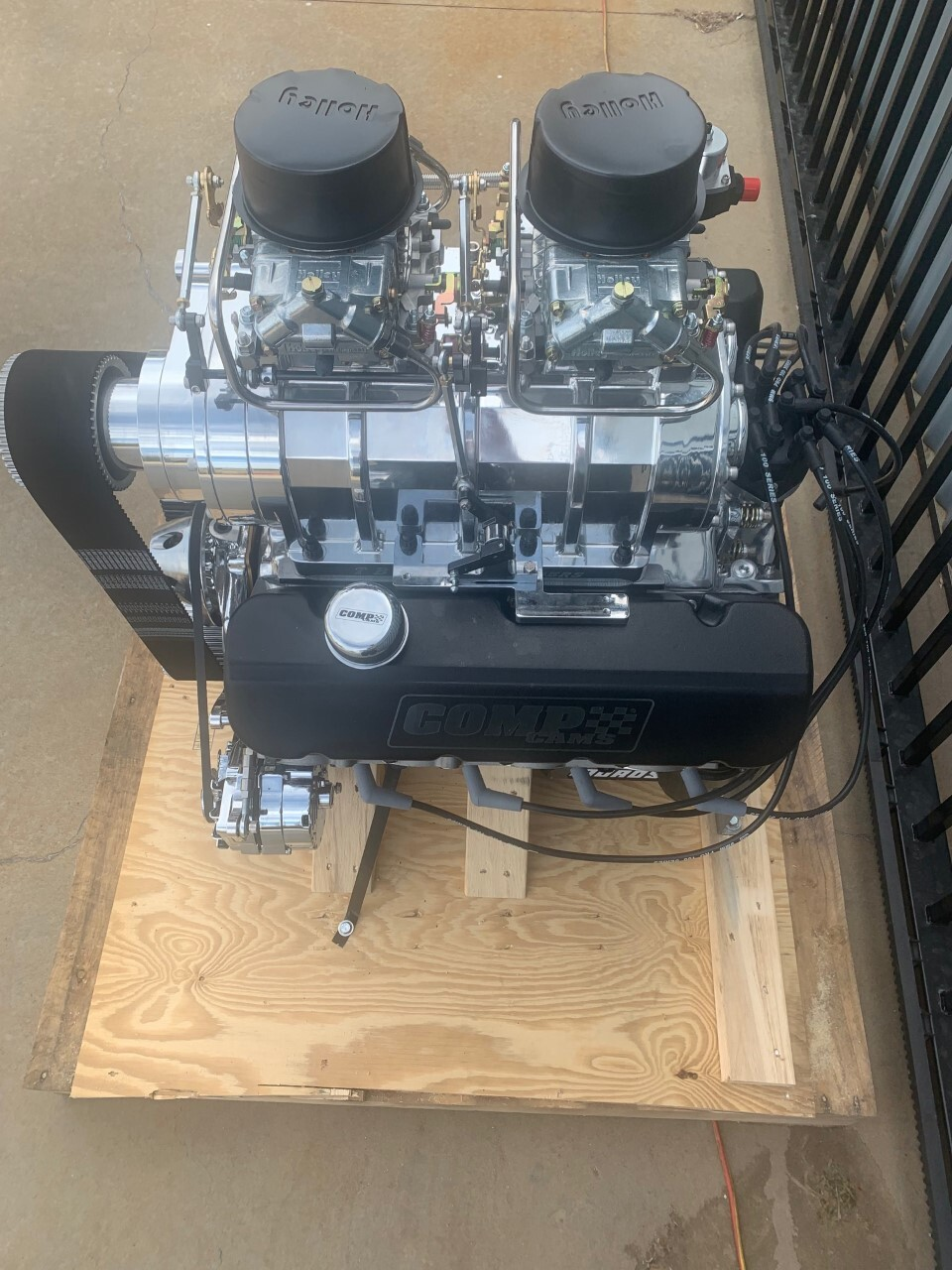Big Blower Supercharger: Blown Chevy 540ci Big Block 8-71 Supercharged Turnkey