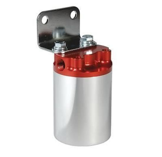 Aermotive Canister Style 100 Micron High Flow Fuel Filter Redpolish Rhenginemasterau: Fuel Filter Canister Style At Gmaili.net
