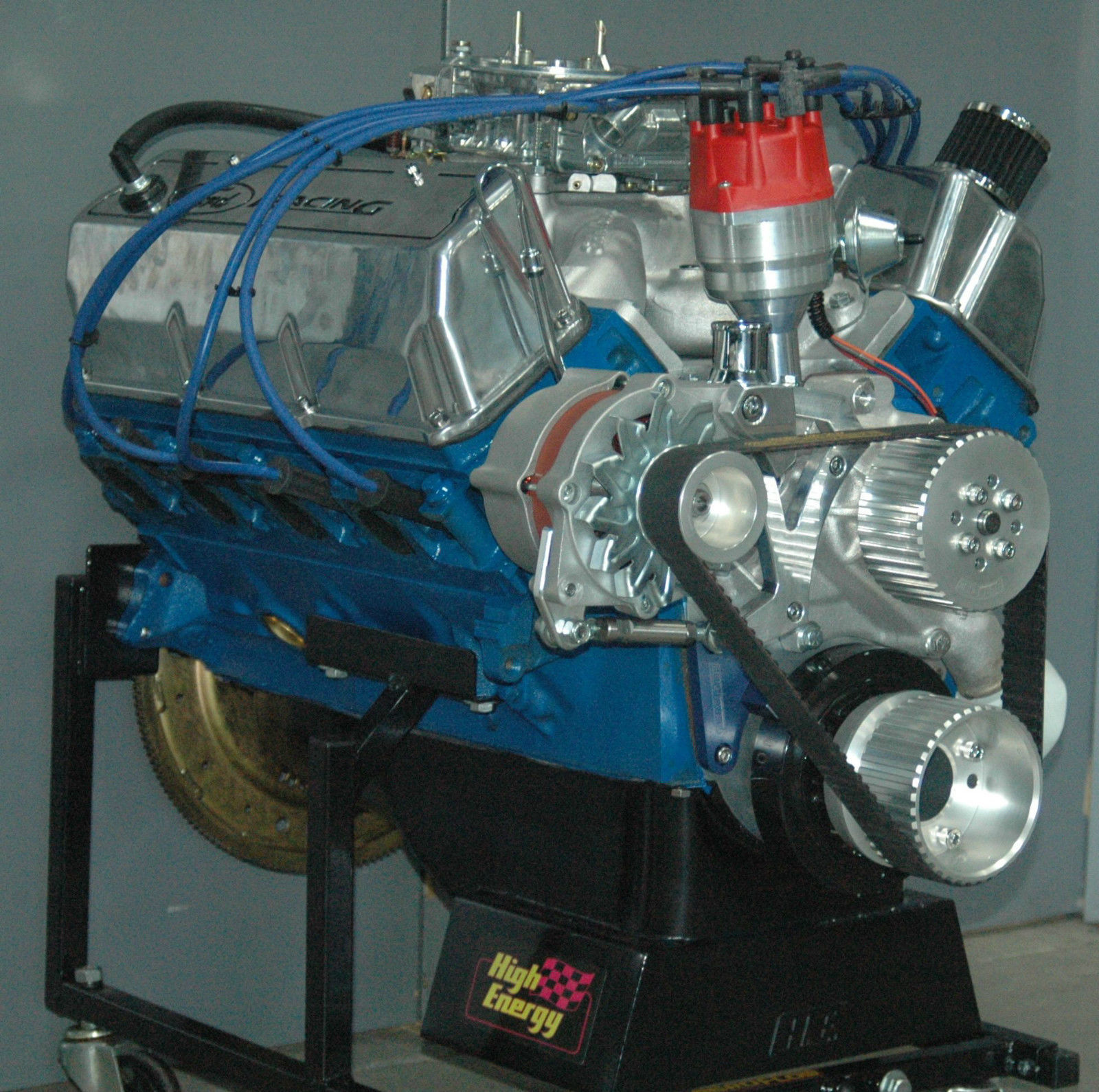 Ford 351 cleveland engine specs Oil