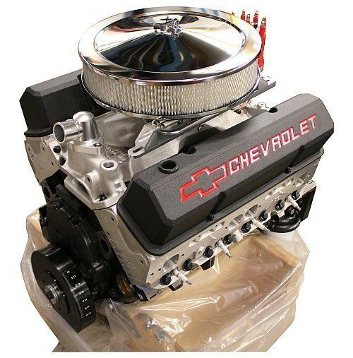 Gm Crate Engines >> GM12498772-AF Chev SB 383 Dressed Crate Engine Alloy Heads ...