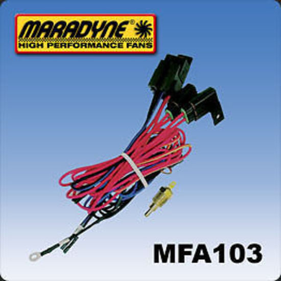 MARADYNE RADIATOR FAN WIRING HARNESS WITH 195 ... on
