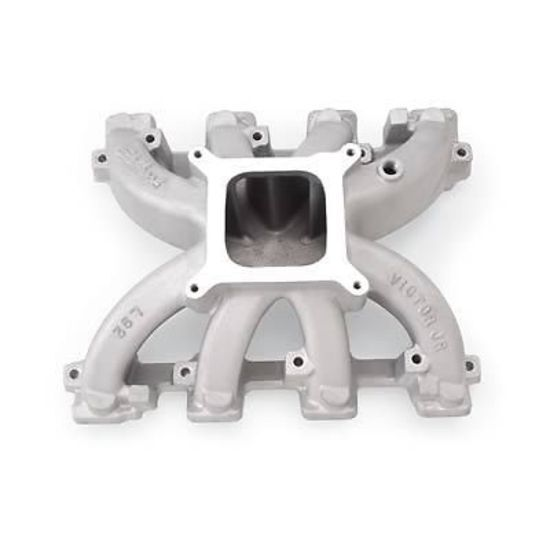 Stock Ls1 With Cam Hp: EDELBROCK VICTOR JR CARBURETED INTAKE MANIFOLD RECT PORT