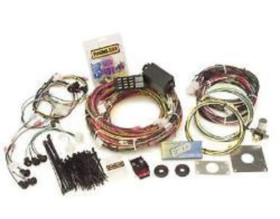 painless wiring 14 circuit harness kit ford mustang 1965 ... painless wiring harness 1993 mustang