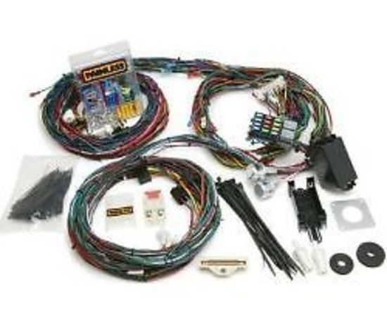 painless wiring 14 circuit harness kit ford mustang 1969-70 non efi pw20122