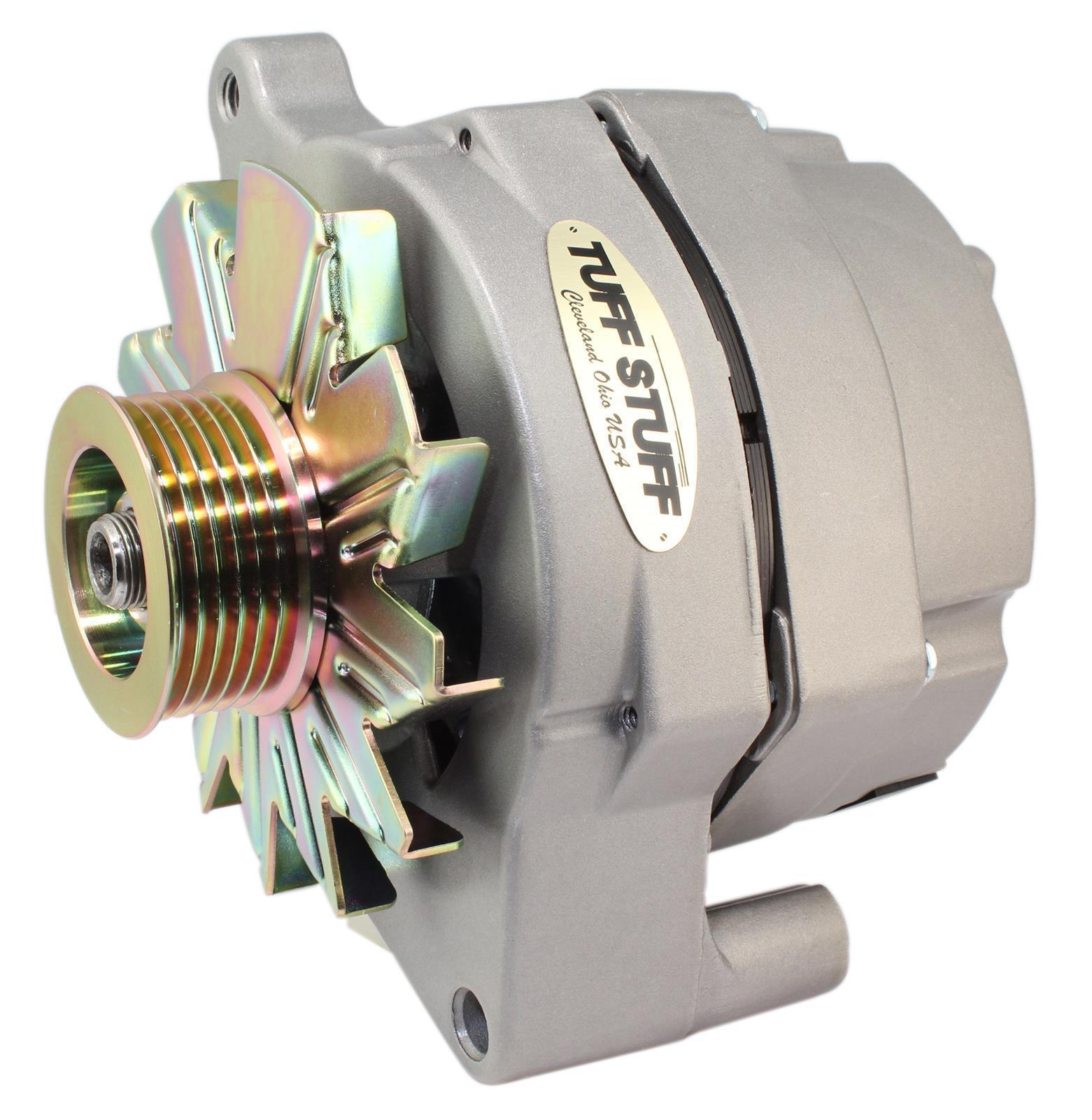 TUFF STUFF 100AMP 1-WIRE ALTERNATOR TUF70686G GM 10SI STYLE SUIT FORD  SERPENTINE - Tuff Stuff Performance