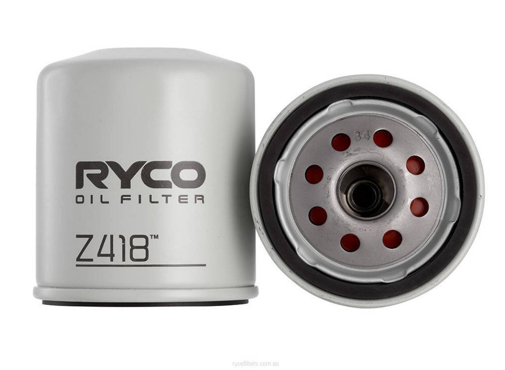 Ryco Z418 Replacement Oil Filter Suit Bmw Chrysler Holden Suzuki 1999 Jeep Grand Cherokee Toyota