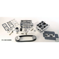 CHEV S/B BILLET KIT POLISHED 2V 2815