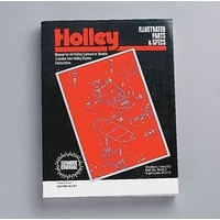HOLLEY PERFORMANCE ILLISTRATED PARTS & SPECS MANUAL HO36-51-7 PAPERBACK 448 PAGE