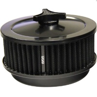 "TFI RACING BLACK AIR FILTER ASSEMBLY 6-3/8"" x 2-1/2"" 446-921BLK FITS 5-1/8"" NECK"