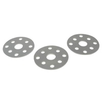 "CHEVROLET WATER PUMP PULLEY SHIM KIT 4480, 3 SHIMS PER KIT EACH 1/16"" THICK"