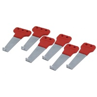 SPECTRE SILICONE IGNITION LEAD SEPERATORS 7-8.8MM RED 45923