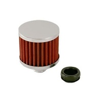 "66-002 Valve Cover Breather Cap Washable Red Cotton Element Suit 1-1/4"" Hole"