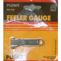 "PLEWS TOOLS 72-119 MINI FEELER GAUGE 0.010"" TO 0.035"" (.254-.889mm) - NOS"