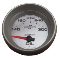 "AUTOMETER ULTRA LITE II 2-5/8"" ELEC OIL TEMPERATURE GAUGE 140-300°F AU7748"