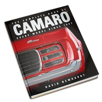 THE COMPLETE BOOK OF CAMARO 780760339619 HARDCOVER 288 PAGES