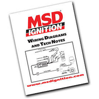 MSD WIRING DIAGRAMS, TECH NOTES & TROUBLE-SHOOTING GUIDE BOOK MSD9615