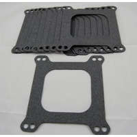 AED CARBURETOR BASE GASKET 4-BBL SQUARE BORE OPEN CENTRE 10 PACK AED5850