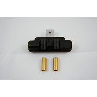 AED REAR JET EXTENSION KIT PUSH ON FLOAT HOLLEY 4150,4160,4500 BRASS AED5896