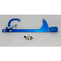 AED BILLET THROTTLE BRACKET & SPRING HOLLEY 4150 FITS FORD CABLE BLUE AED6601B