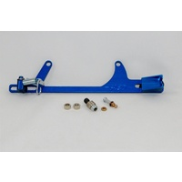 AED BILLET THROTTLE BRACKET & SPRING HOLLEY 4500 FITS FORD CABLE BLUE AED6606B