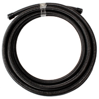 Aeroflow AF100-07-30MBLK SS Braided Hose -7AN 30 Metre Black Stainless Steel