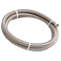 Aeroflow AF100-10-3M SS Braided Hose -10AN 3 Metre Length Clamshell Pack