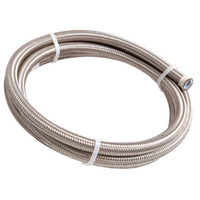 Aeroflow AF100-10-4.5M SS Braided Hose -10AN 4.5M Length Clamshell Pack