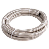 AEROFLOW 100 SERIES STAINLESS STEEL BRAIDED HOSE -12AN X 15M AF100-12-15M