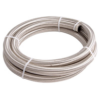 100 Series Stainless Steel Braided Hose -12AN (6 Metre Length) (AF100-12-6M)