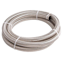 AEROFLOW 100 SERIES STAINLESS STEEL BRAIDED HOSE -20AN AF100-20-6M